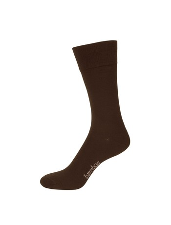 Nur Der Bamboo Comfort Socks for Men brown