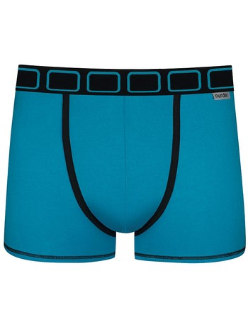 Nur Der Boxer Cotton Stretch Dynamic blue