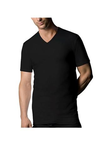 Nur Der T-Shirt V-Neck Double Pack 100% Cotton black