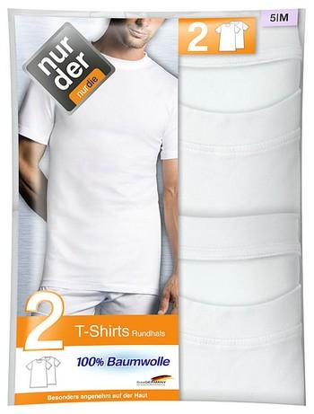 Nur Der T-Shirt Roundneck Double Pack 100% Cotton
