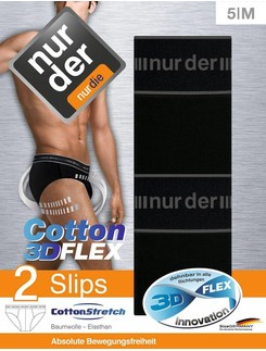 Nur Der Cotton 3D-Flex Double Pack