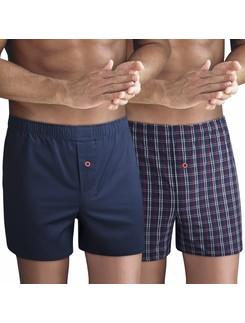 Nur Der Woven Boxer Shorts Double Pack