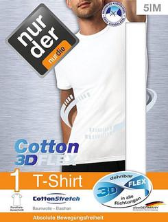 Nur Der T-Shirt 3D-Flex Round Neck
