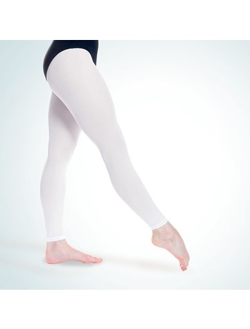 Rumpf Elastic Ballet Dance Tights white
