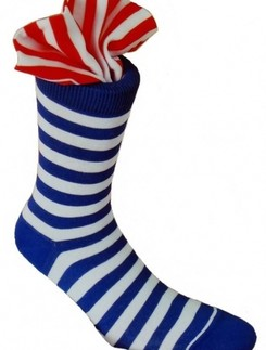 Rogo Karneval Striped Socks