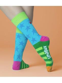 Unabux Ringers Star Socks