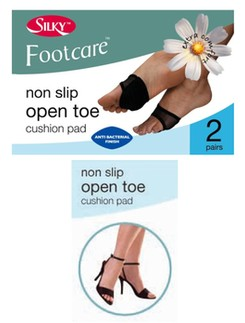 Silky Footcare non sllip open toe cushion pad