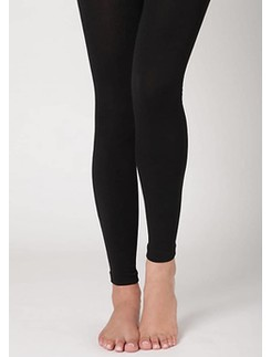 Silky thermal leggings
