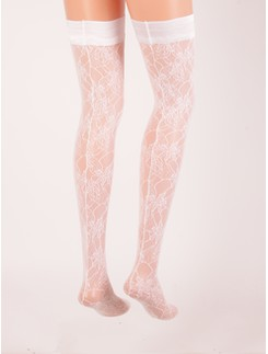 Trasparenze Marble Lace Hold-ups