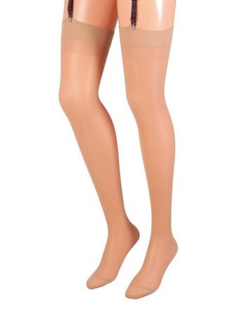 Trasparenze Sara Suspender Stockings beach