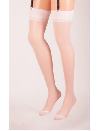 Trasparenze Sara Suspender Stockings bianco seta (cream)