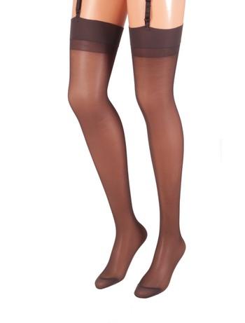Trasparenze Sara Suspender Stockings antracite