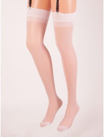 Trasparenze Sara Suspender Stockings bianco (white)