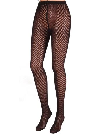 Trasparenze Shamisen Crochet Wool Tights black